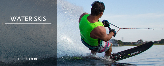 Bargains on Water Skis and Waterski Equipment